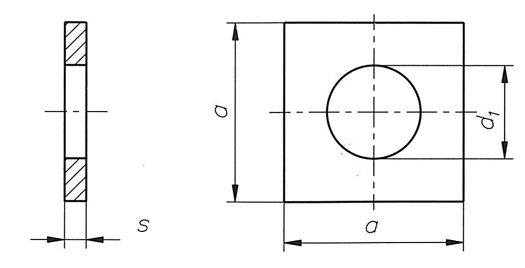 Vierkantsluitplaten Voor Houtverbindingen Staal Jari Systems